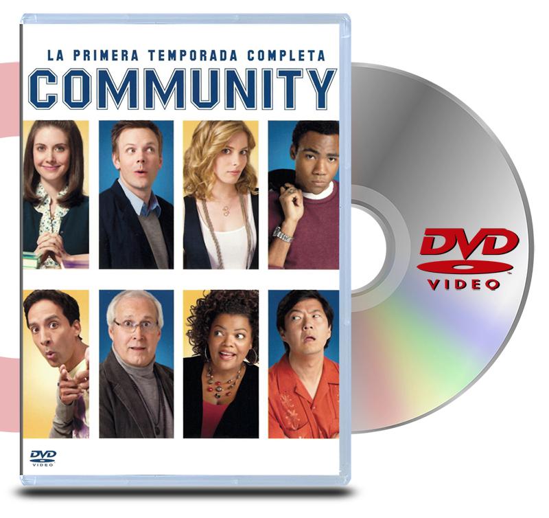 DVD Pack Community primera temporada (4 discos)