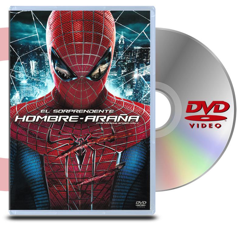 DVD El sorprendente Hombre Araña 1
