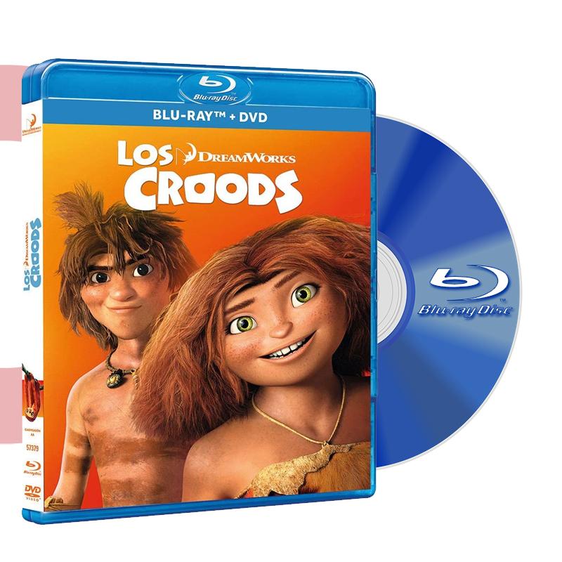Blu Ray LOS CROODS
