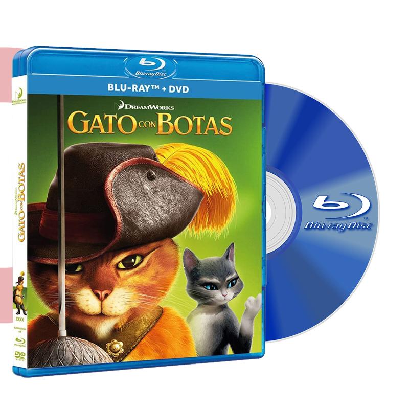 Blu Ray GATO CON BOTAS