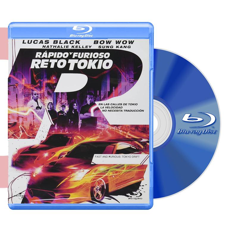 Blu Ray RAPIDO Y FURIOSO RETO TOKYO 2