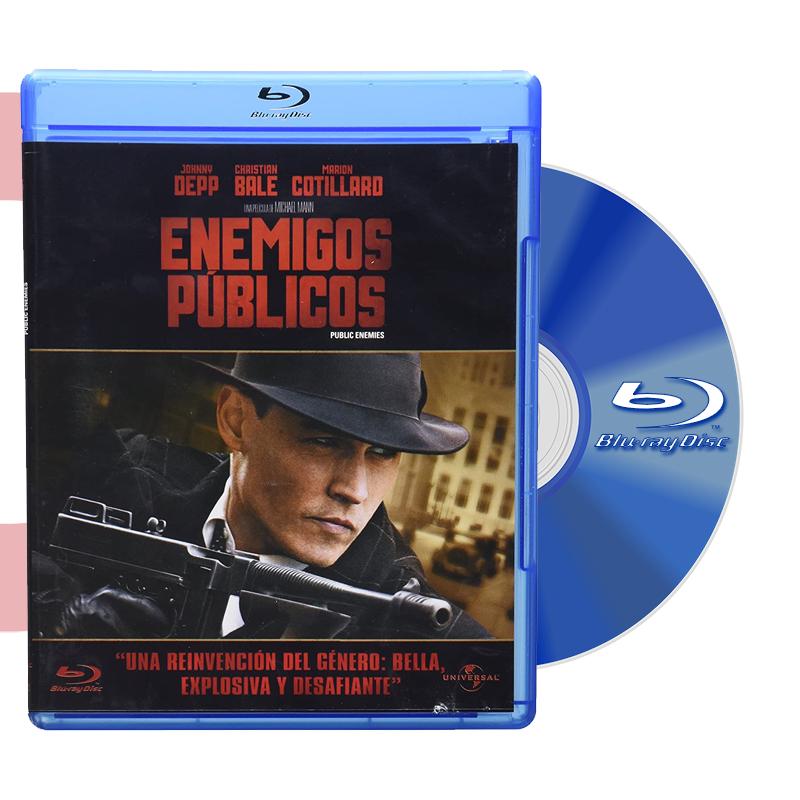 Blu Ray ENEMIGOS PUBLICOS