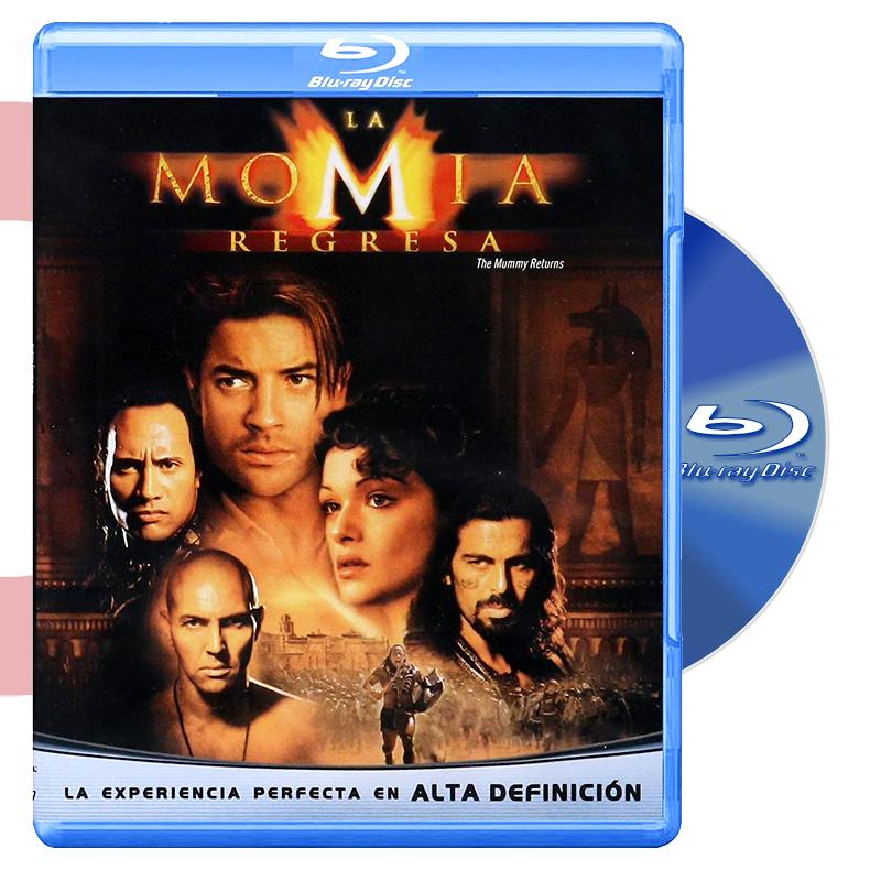 Blu Ray LA MOMIA REGRESA