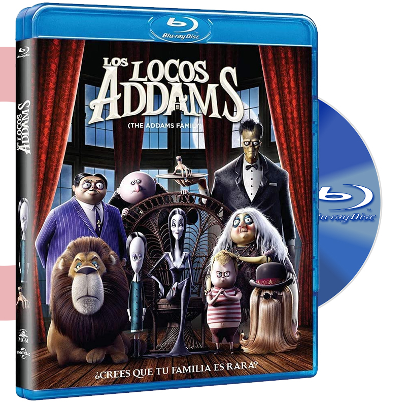 Blu Ray LA FAMILIA ADDAMS