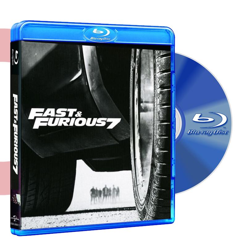 Blu Ray RAPIDOS Y FURIOSOS 7