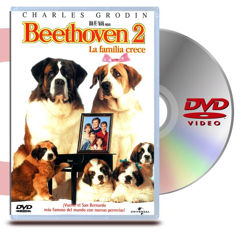 DVD Beethoven 2: la familia crece