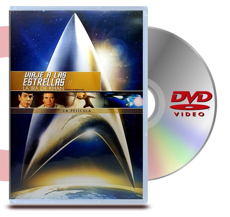 DVD Star Trek 2 La ira de Khan - Viaje a las estrellas 2