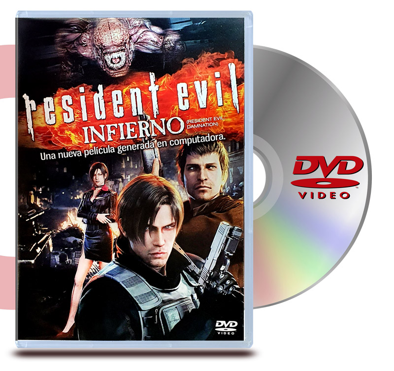 DVD Resident Evil Infierno
