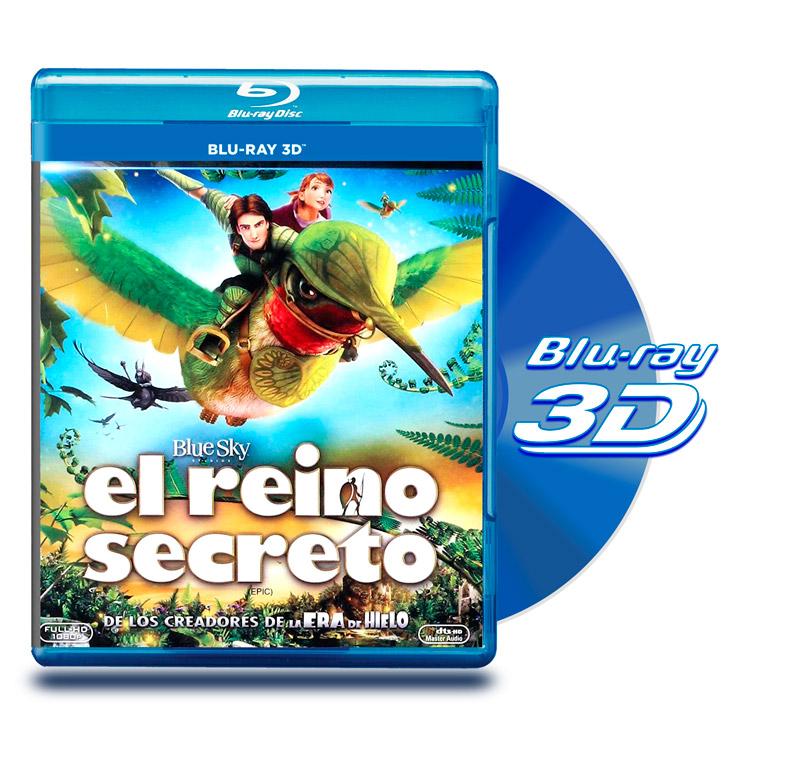 Blu Ray 3D El Reino Secreto