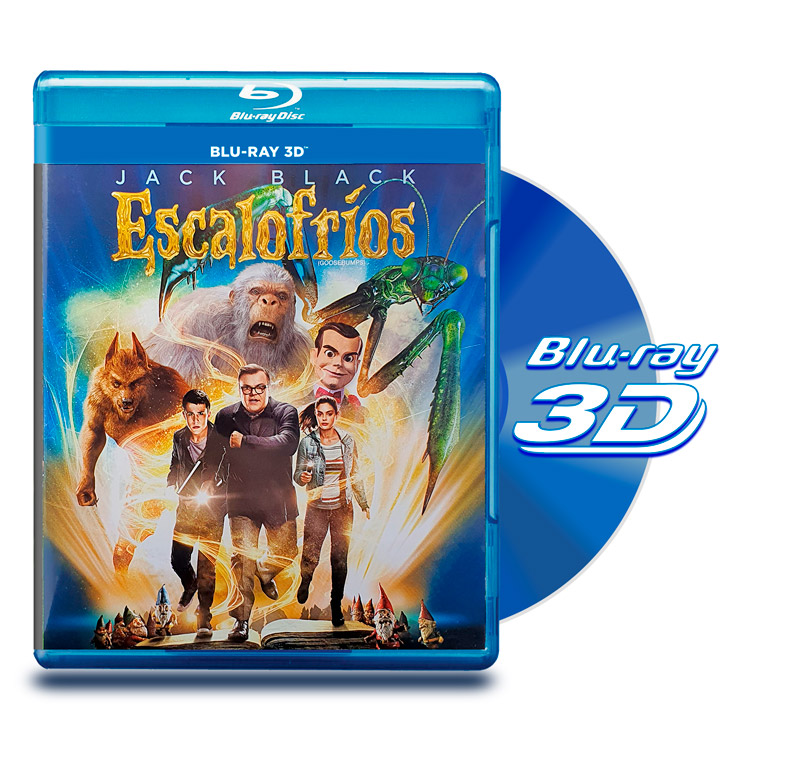 Blu Ray 3D Escalofrios