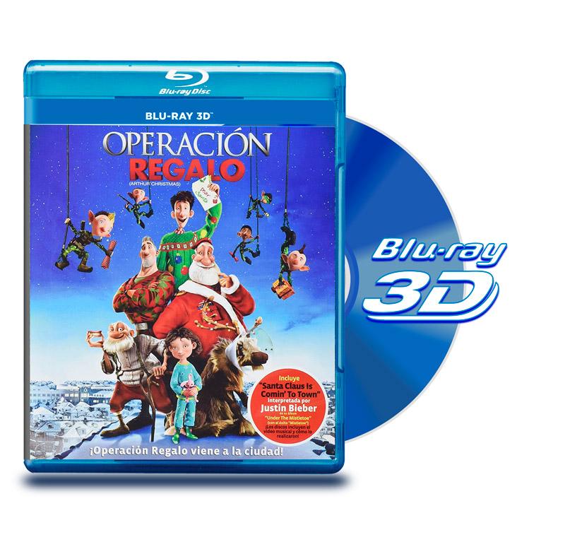 Blu Ray 3D Operación Regalo