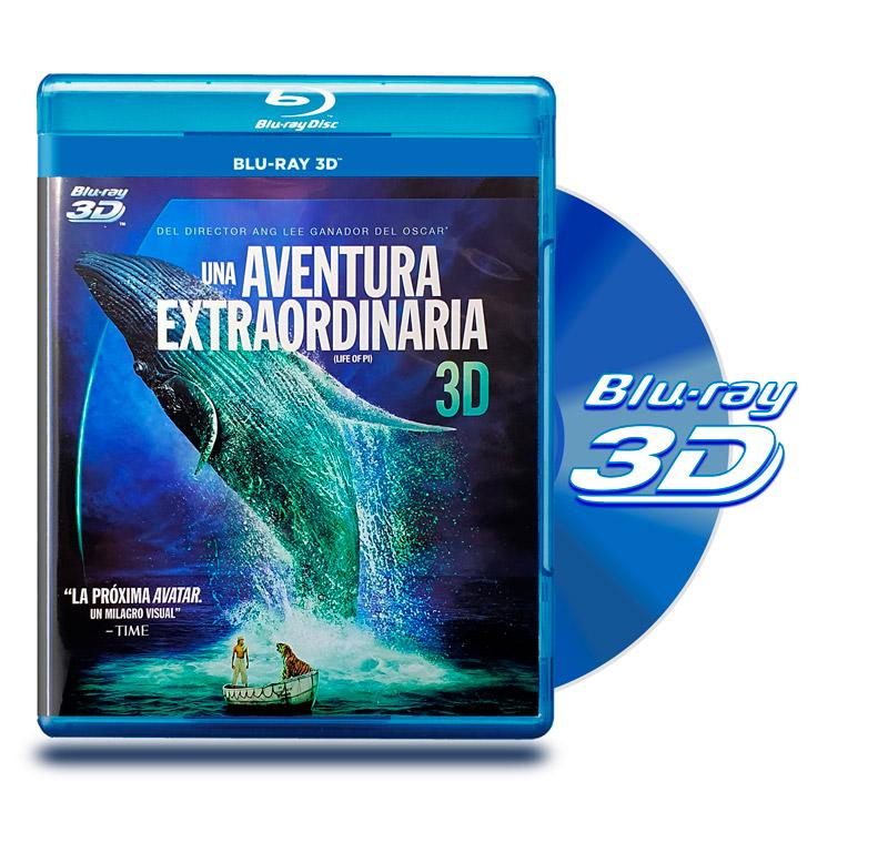 Blu Ray 3D Una Aventura Extraordinaria