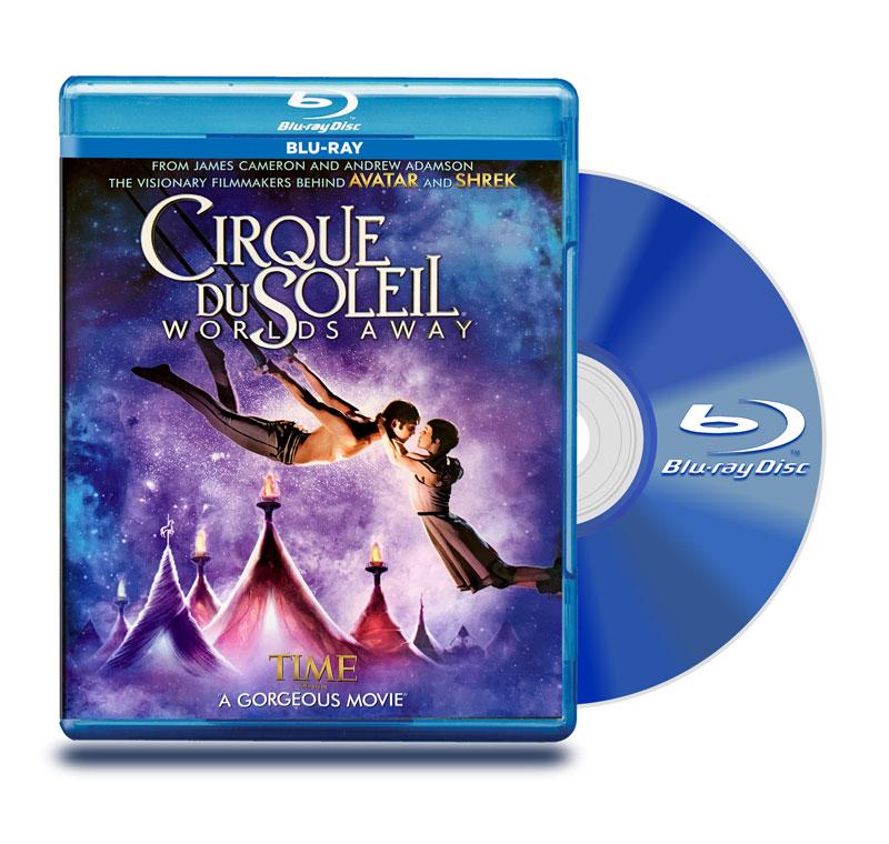 Blu Ray Cirque Du Soleil: Worlds Away