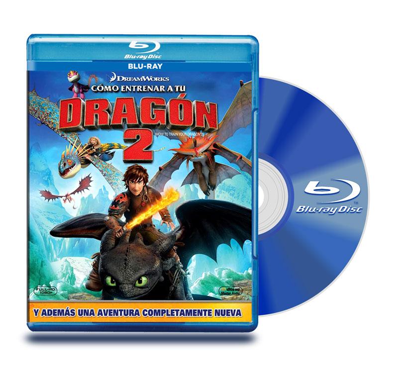 Blu Ray Como Entrenar A Tu Dragon 2