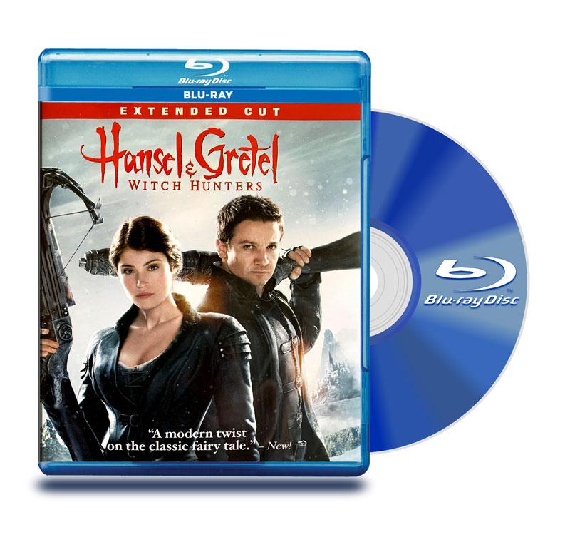 Blu Ray Hansel Y Gretel: Cazadores De Brujas