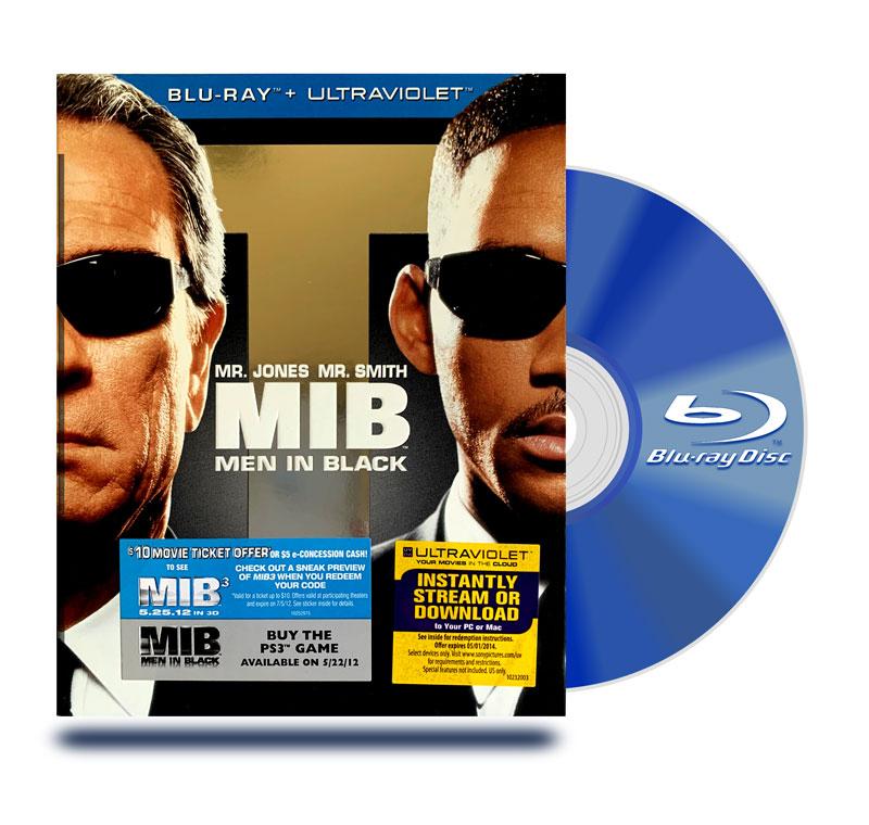 Blu Ray Hombres De Negro