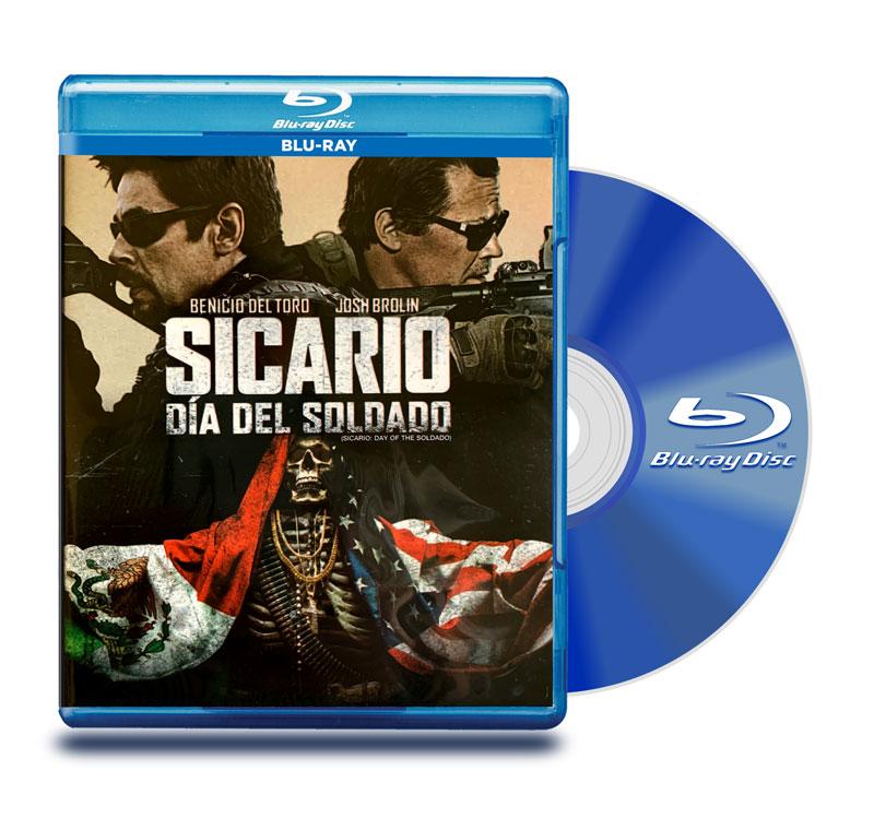 Blu Ray Sicario Dia Del Soldado