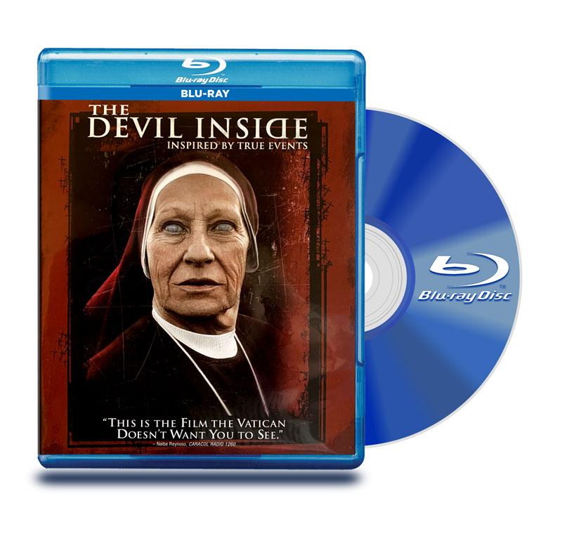 Blu Ray Con el diablo adentro