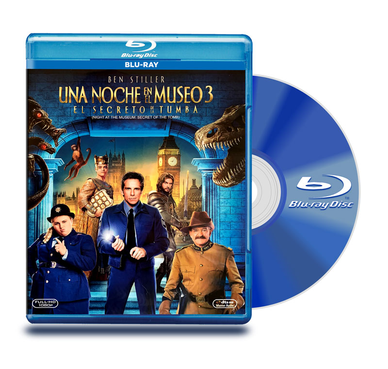 Blu Ray Una Noche En El Museo 3