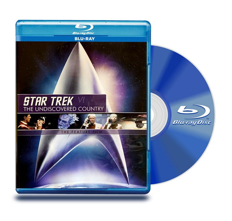 Blu Ray Viaje A Las Estrellas 6: Tierra Desconocida