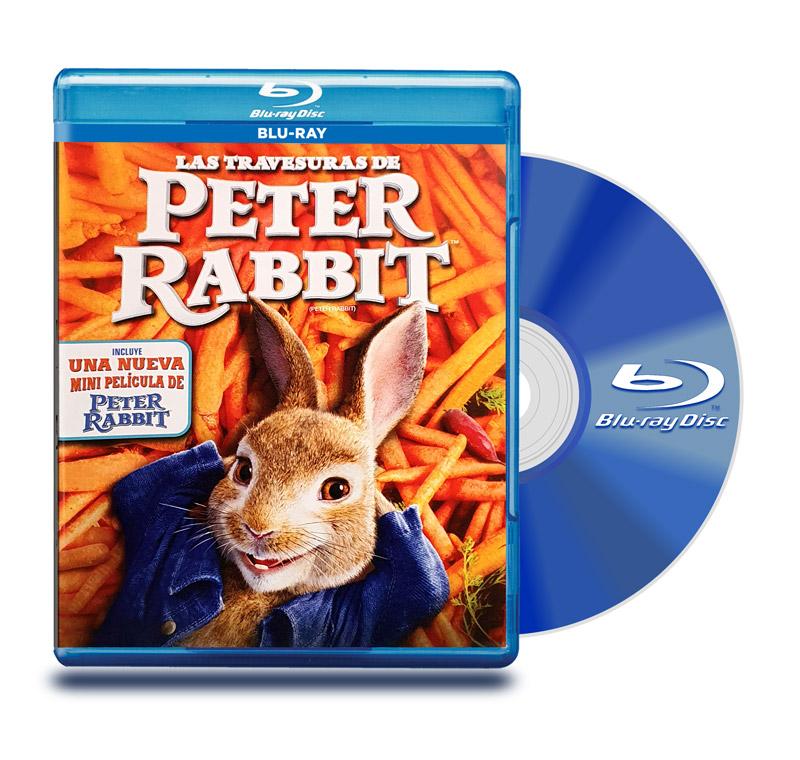Blu Ray Las Travesuras de Peter Rabbit