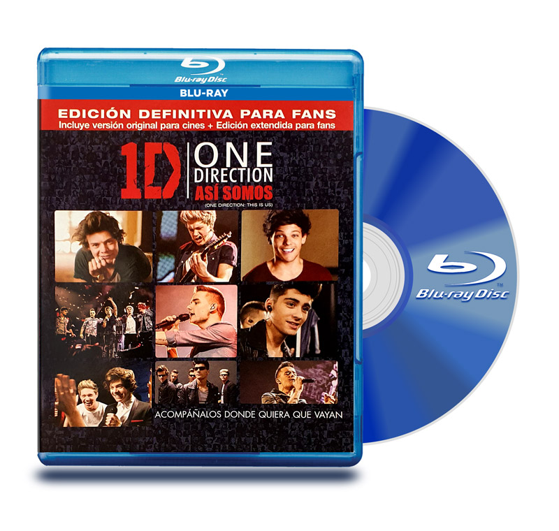 Blu Ray One Direction : Asi Somos