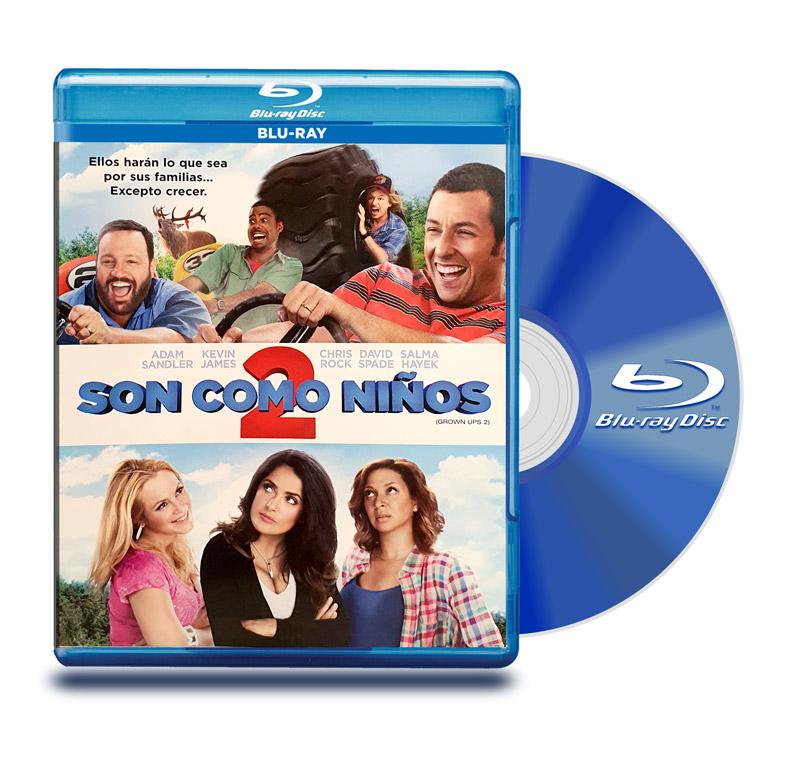 Blu Ray Son Como Niños 2
