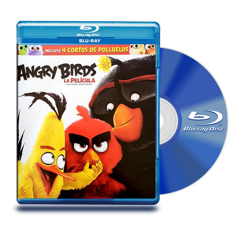 Blu Ray Angry Birds: La Película BD + DVD