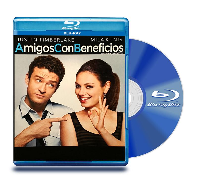 Blu Ray Amigos con Beneficios