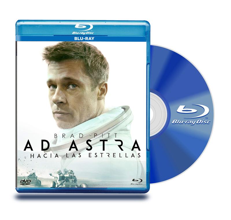 Blu Ray AD Astra hacia las estrellas
