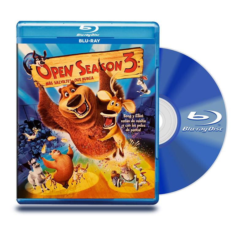 Blu Ray Open Season 3