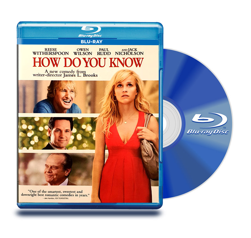 Blu Ray Como Saber si es Amor (How Do You Know)