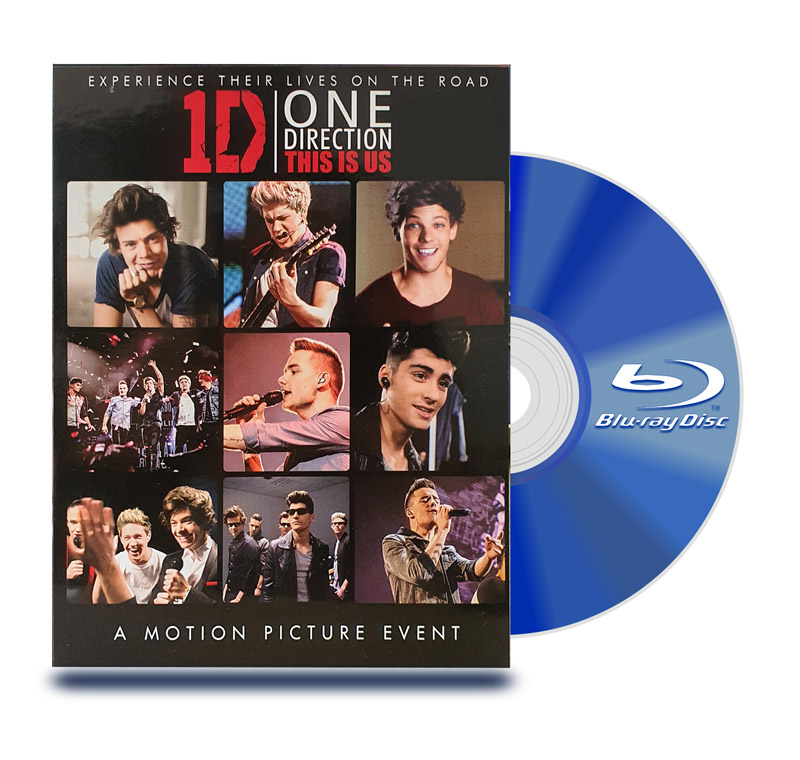 Blu Ray One Direction : Asi Somos Deluxe