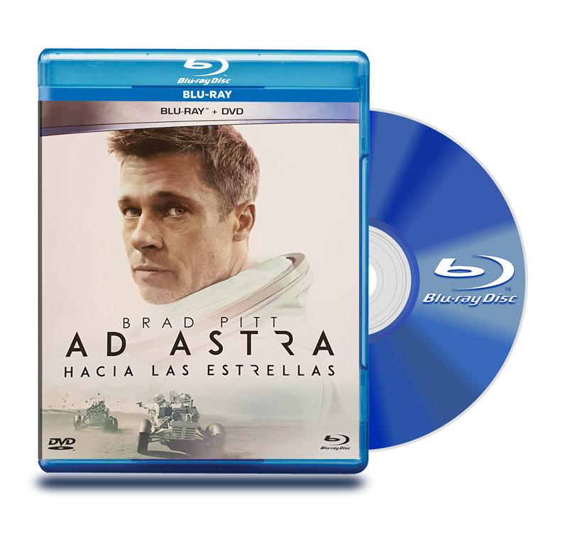Blu Ray AD Astra hacia las estrellas BD+ DVD