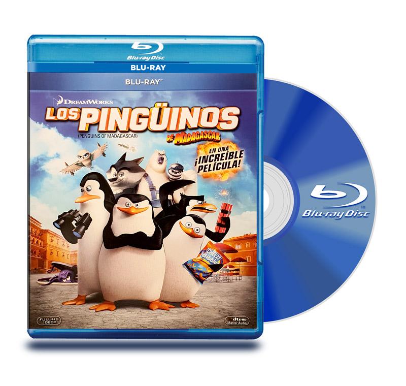 Blu Ray Los Pinguinos de Madagascar