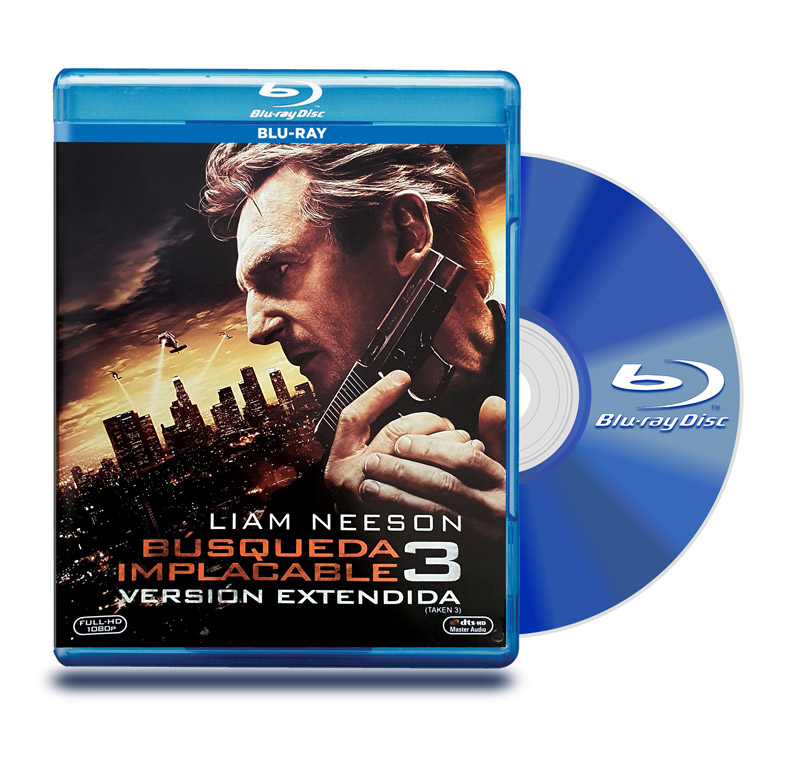Blu Ray Busqueda Implacable 3