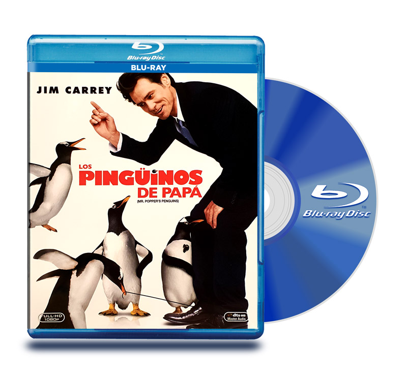 Blu Ray Los Pinguinos de Papá