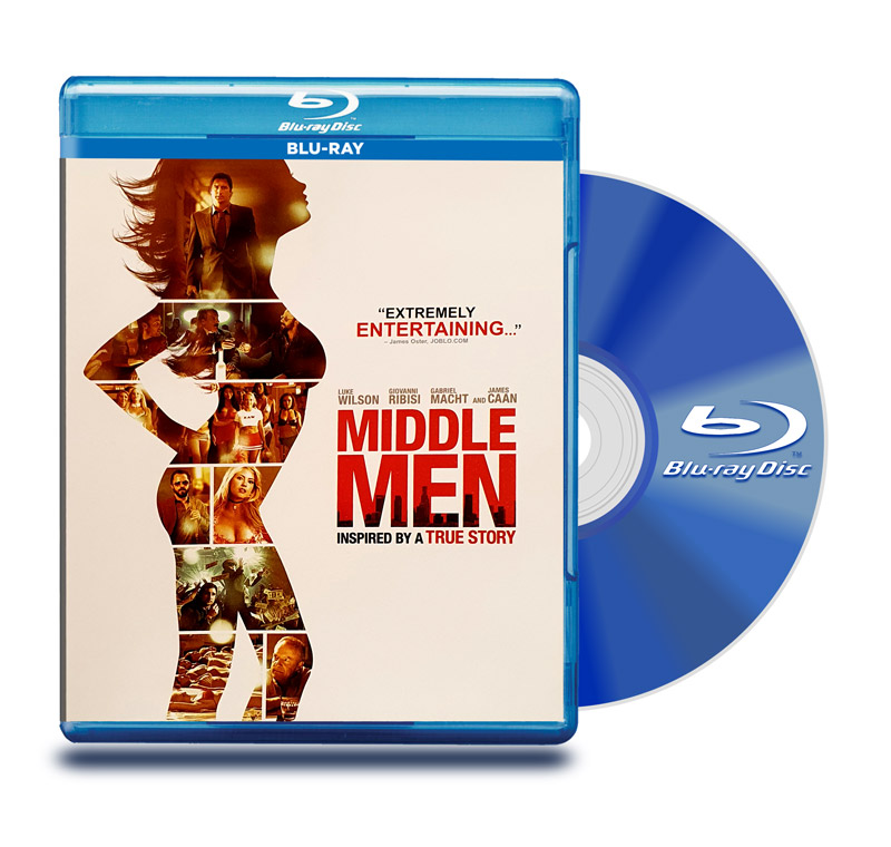 Blu Ray Red Sexual (Middle Man)