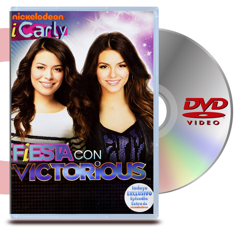 DVD ICarly Fiesta con Victorious