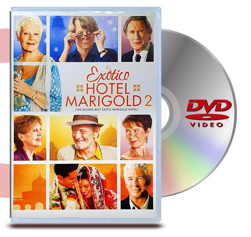 DVD El Exótico Hotel Marigold 2
