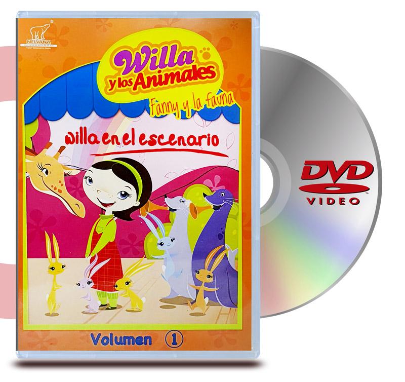 DVD Willa y los Animales Vol 1