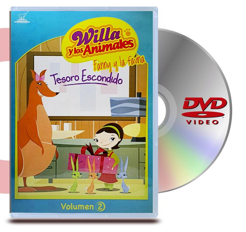 DVD Willa y los Animales Vol 2