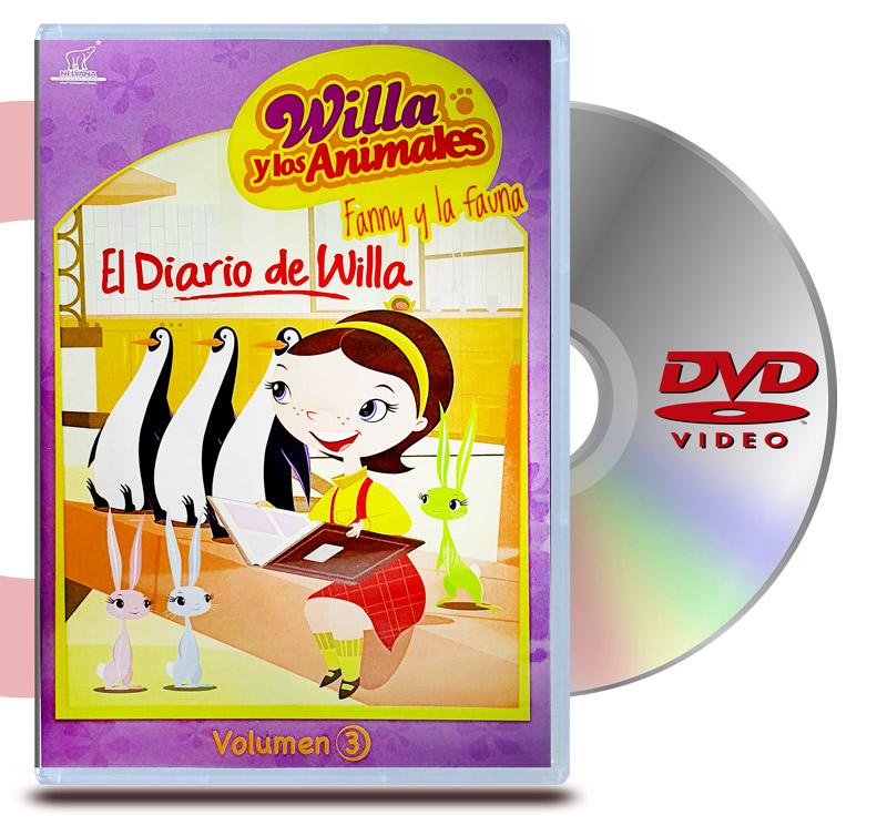DVD Willa y los Animales Vol 3