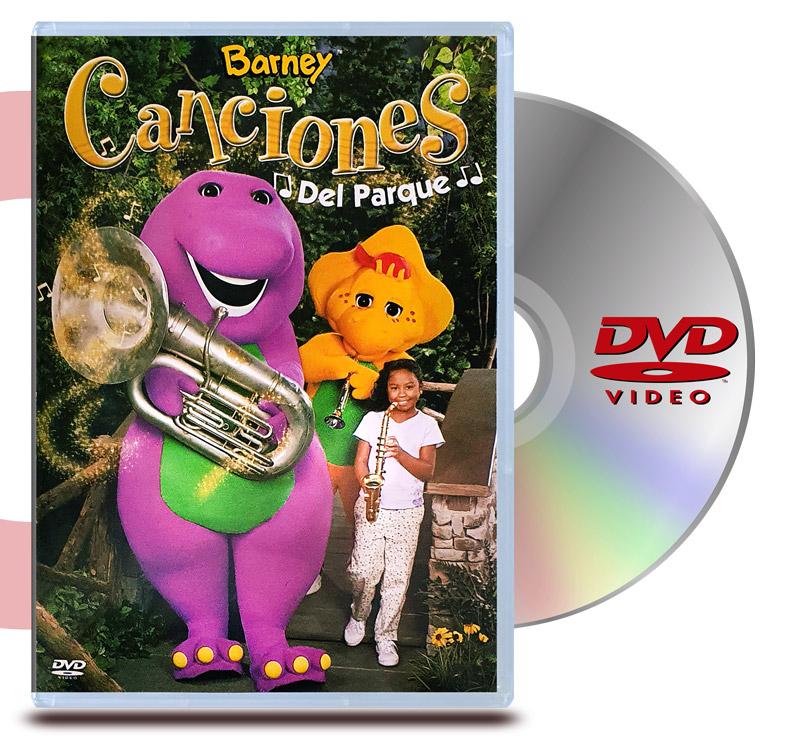 DVD Barney Canciones del Parque