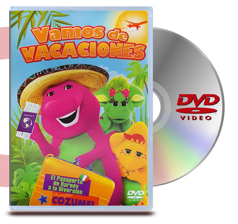 DVD Barney Vamos de Vacaciones
