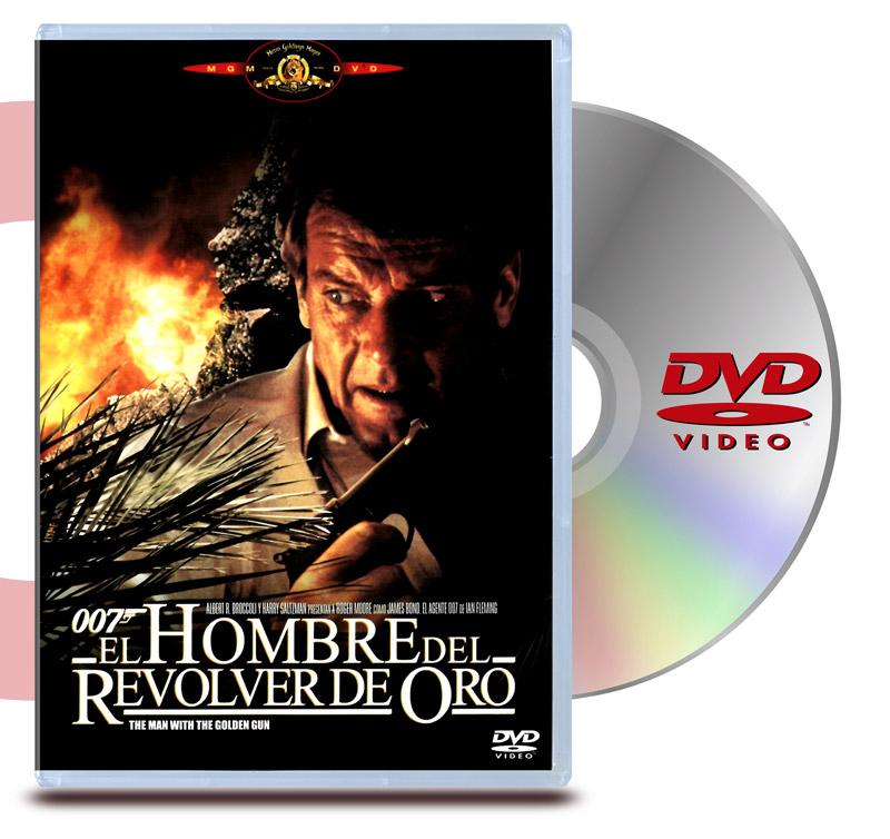 DVD 007 El Hombre del Revolver de Oro