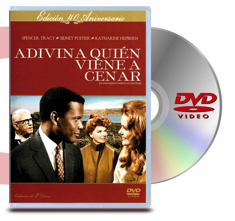DVD Adivina quien viene a Cenar