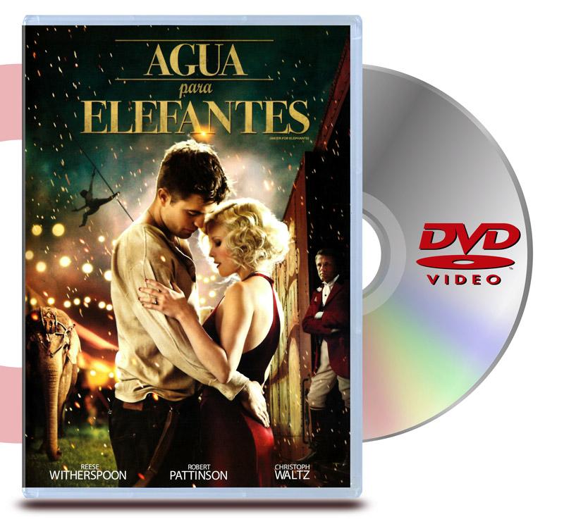 DVD Agua para Elefantes