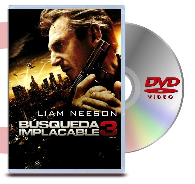 DVD Busqueda Implacable 3