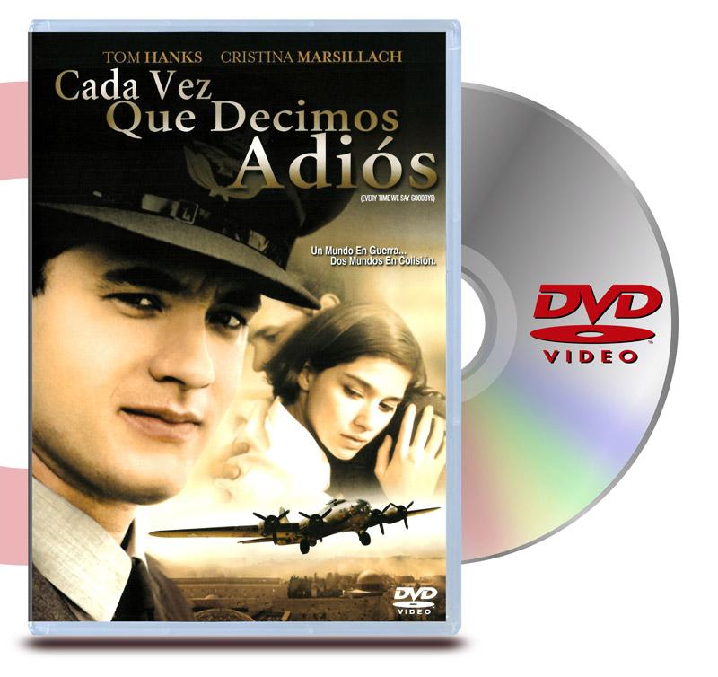 DVD Cada vez que decimos Adios